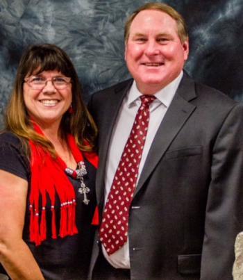 Tom and Cynthia Brand
